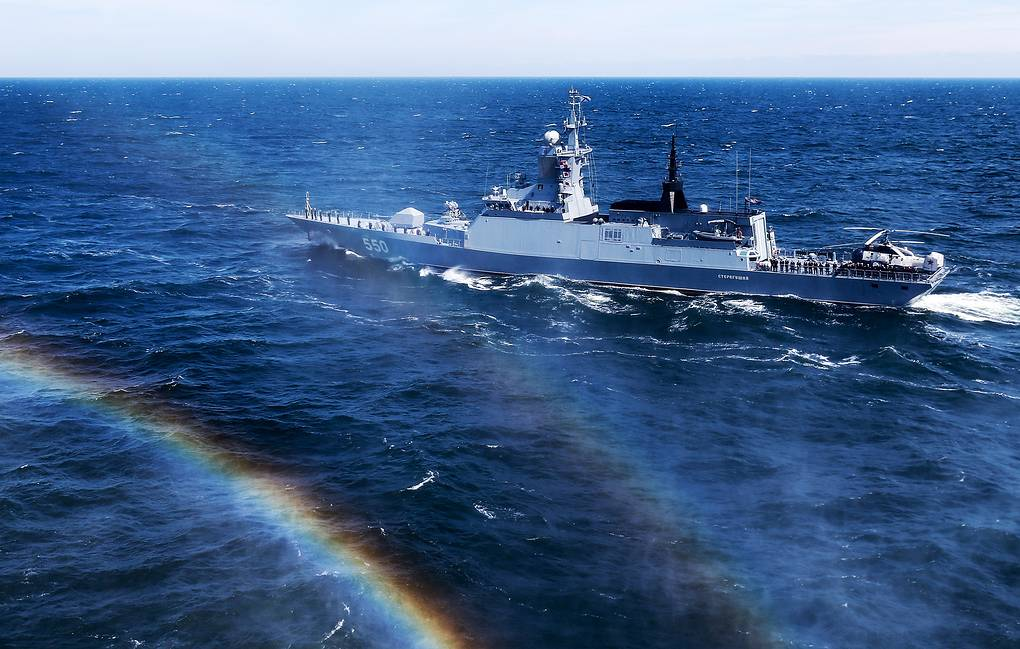 Russia's Baltic Fleet warships to search for enemy submarine