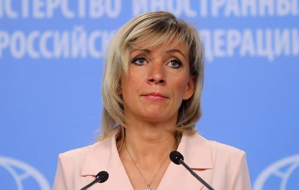 Russian Foreign Ministry's official spokeswoman Maria Zakharova Vyacheslav Prokofyev/TASS