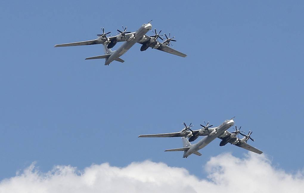 Tu-95MS strategic missile-carrying bombers Mikhail Japaridze/TASS