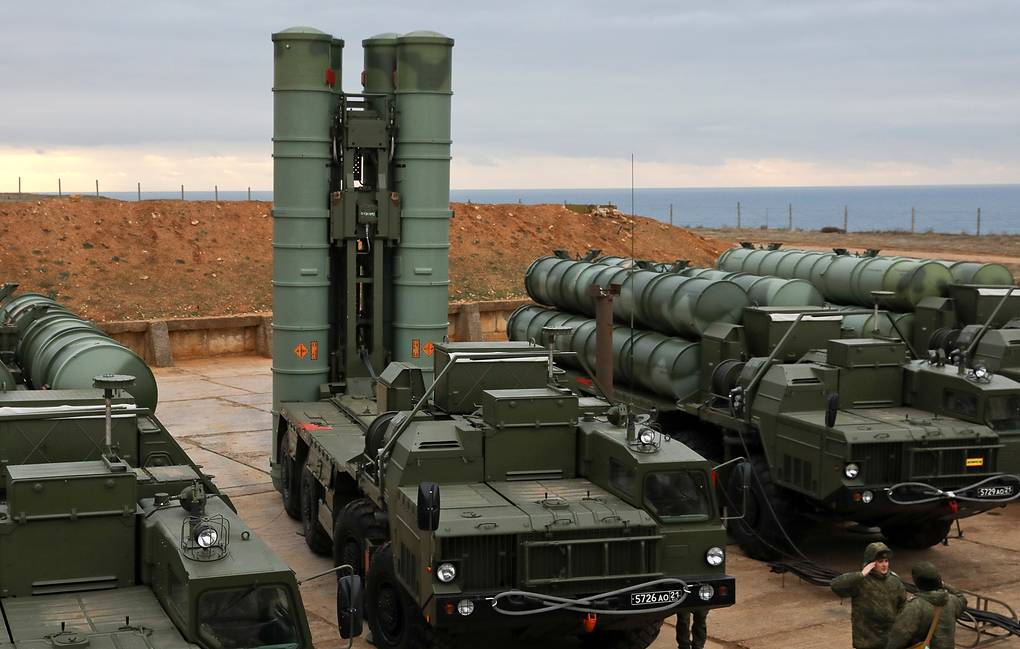 Russian S-400 teams go on high alert to repel enemy missile