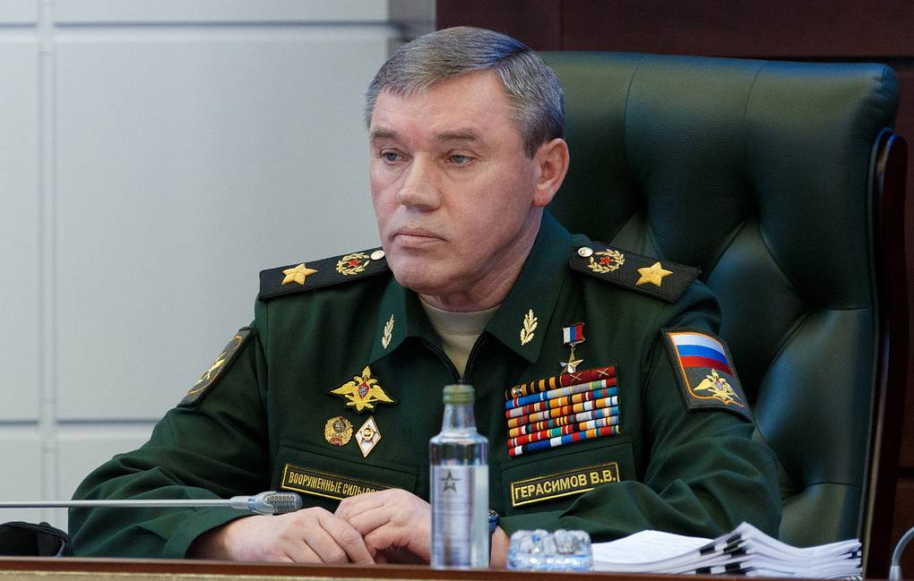 Chief of the General Staff of the Russian Armed Forces Valery Gerasimov Alexei Yereshko/Russian Defence Ministry Press Office/TASS