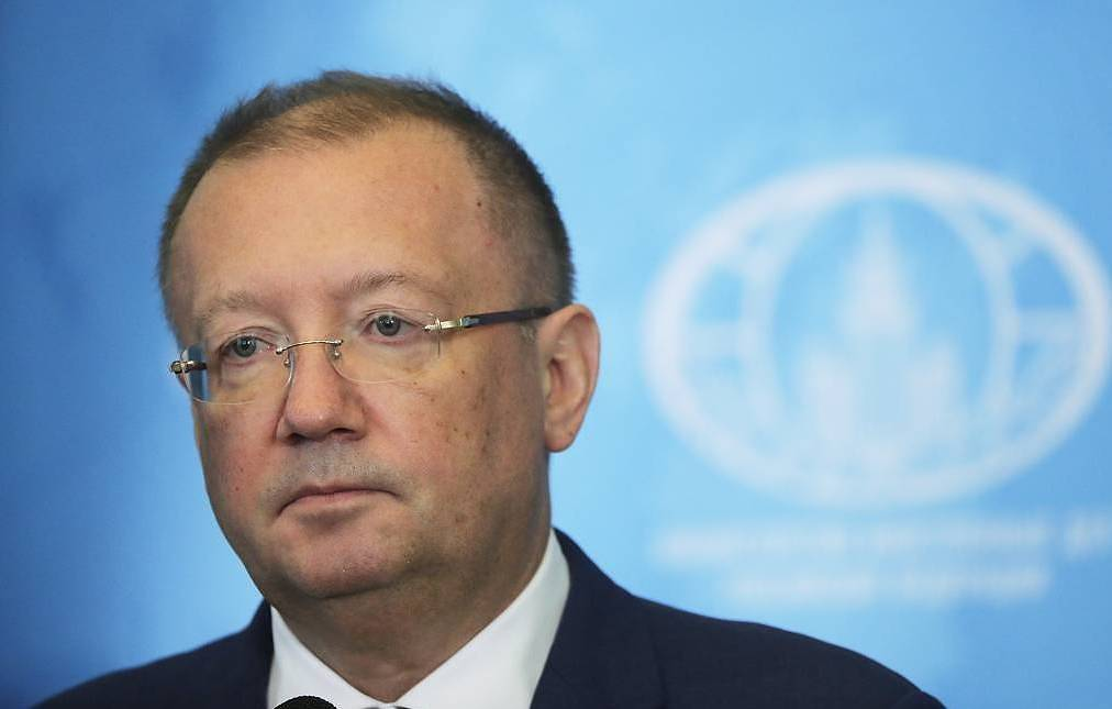 Russian Ambassador to the UK Alexander Yakovenko Michael Metzel/TASS