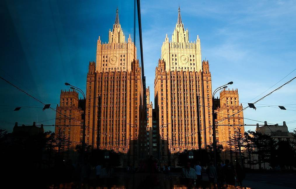 Russia's Foreign Ministry Valery Sharifulin/TASS