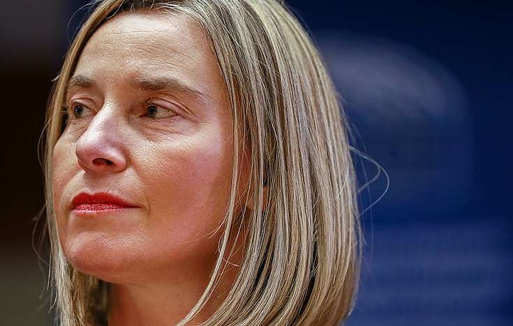 EU foreign policy chief Federica Mogherini EPA-EFE/STEPHANIE LECOCQ/POOL