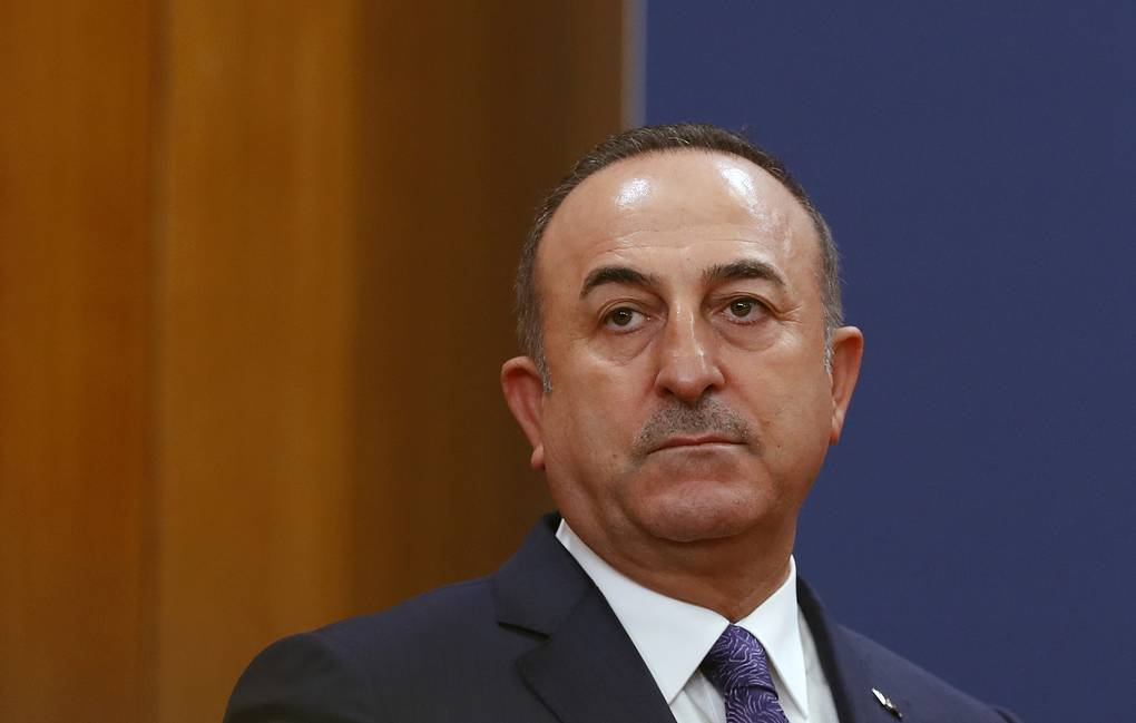 Turkish Foreign Minister Mevlut Cavusoglu AP Photo/Darko Vojinovic