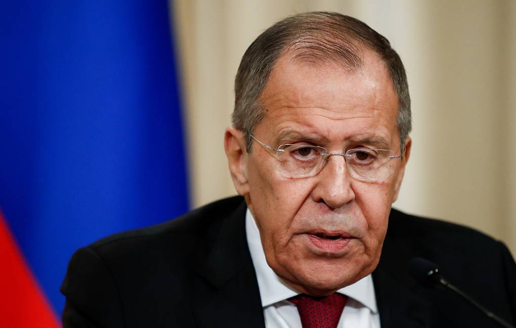 Russian Foreign Minister Sergey Lavrov Artyom Geodakyan/TASS