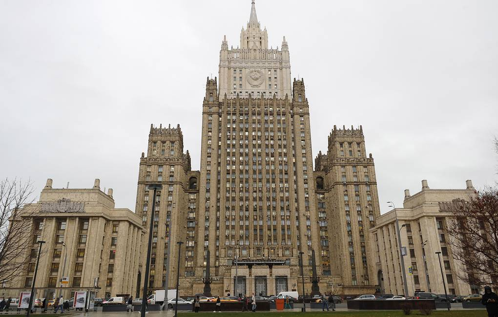 The Russian Foreign Ministry Mikhail Japaridze/TASS