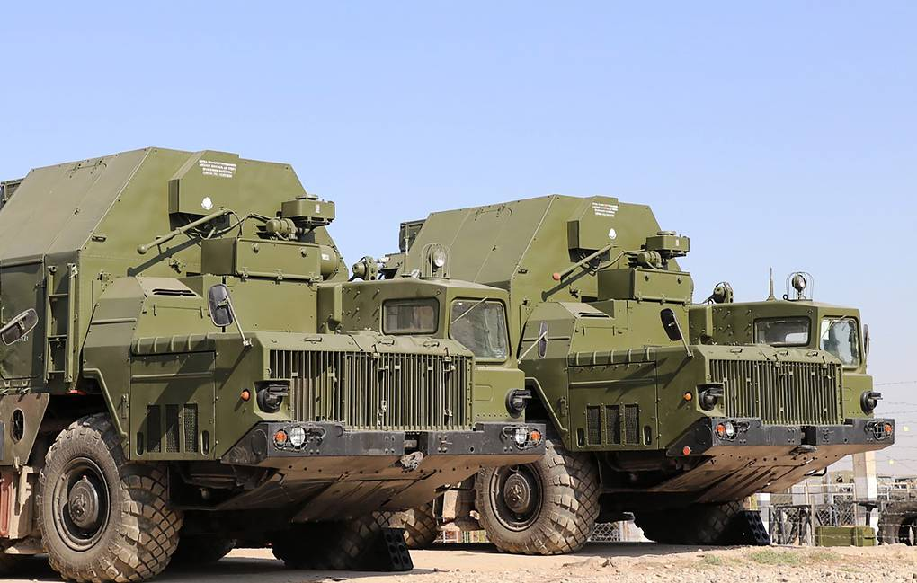 S-300PS missile systems Press Office of Russia's Central Military District/TASS