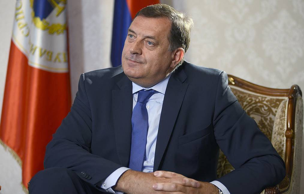 Serb member of the Presidency of Bosnia and Herzegovina Milorad Dodik AP Photo/Radivoje Pavicic