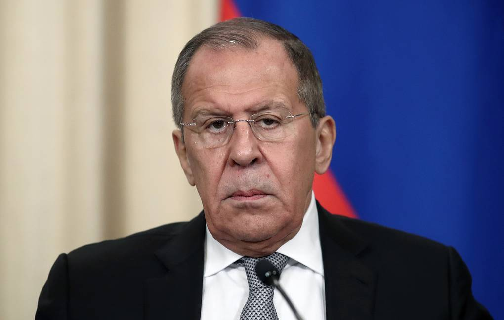 Russian Foreign Minister Sergey Lavrov Valery Sharifulin/TASS
