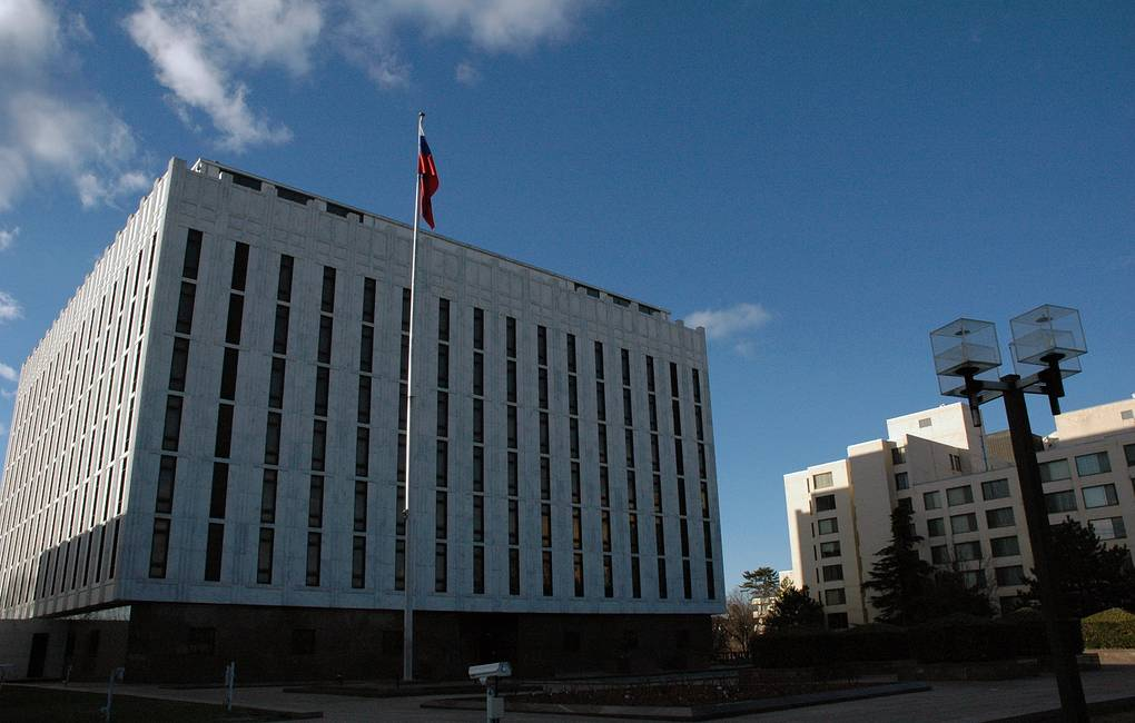 The Russian Embassy in Washington, DC Anatoly Bochinin/TASS
