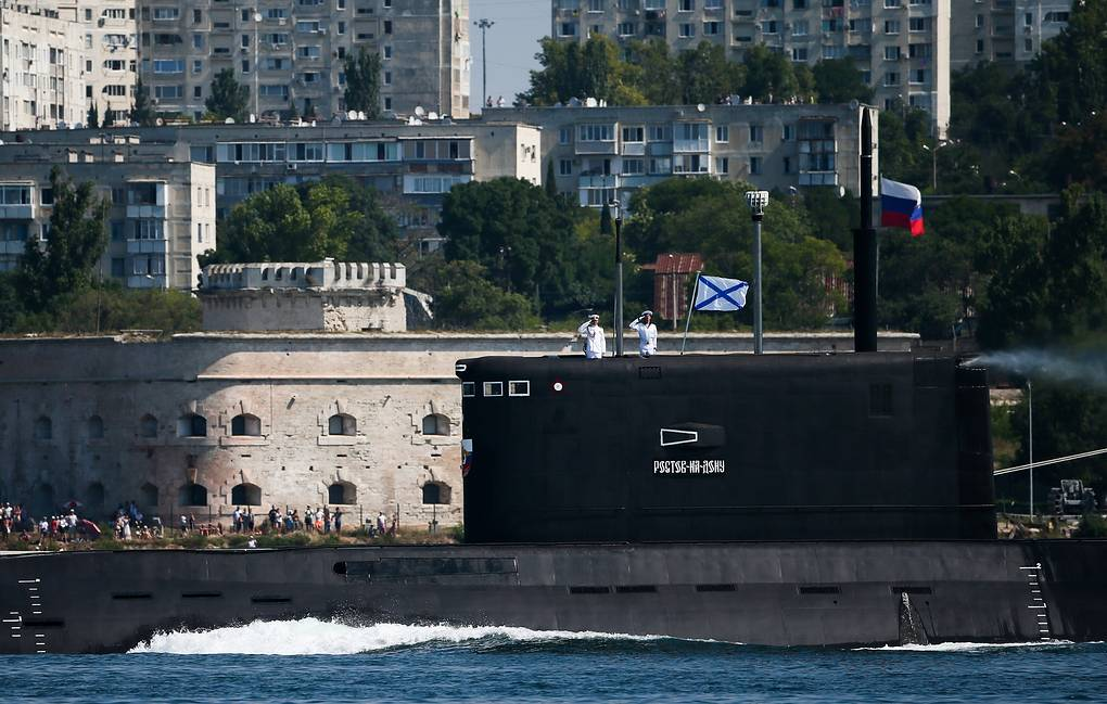 Rostov-on-Don submarine  Dmitry Feoktistov/TASS