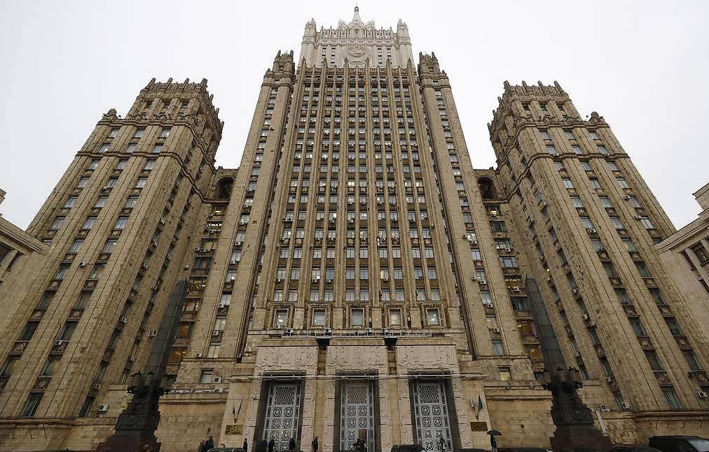 The Russian Foreign Ministry Mikhail Dzhaparidze/TASS