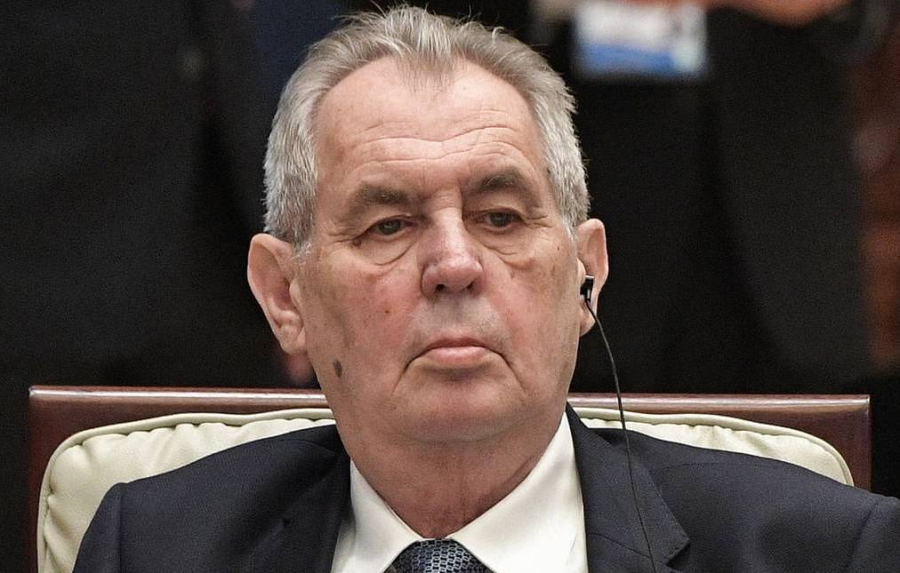 President of the Czech Republic Milos Zeman Alexei Nikolsky/TASS