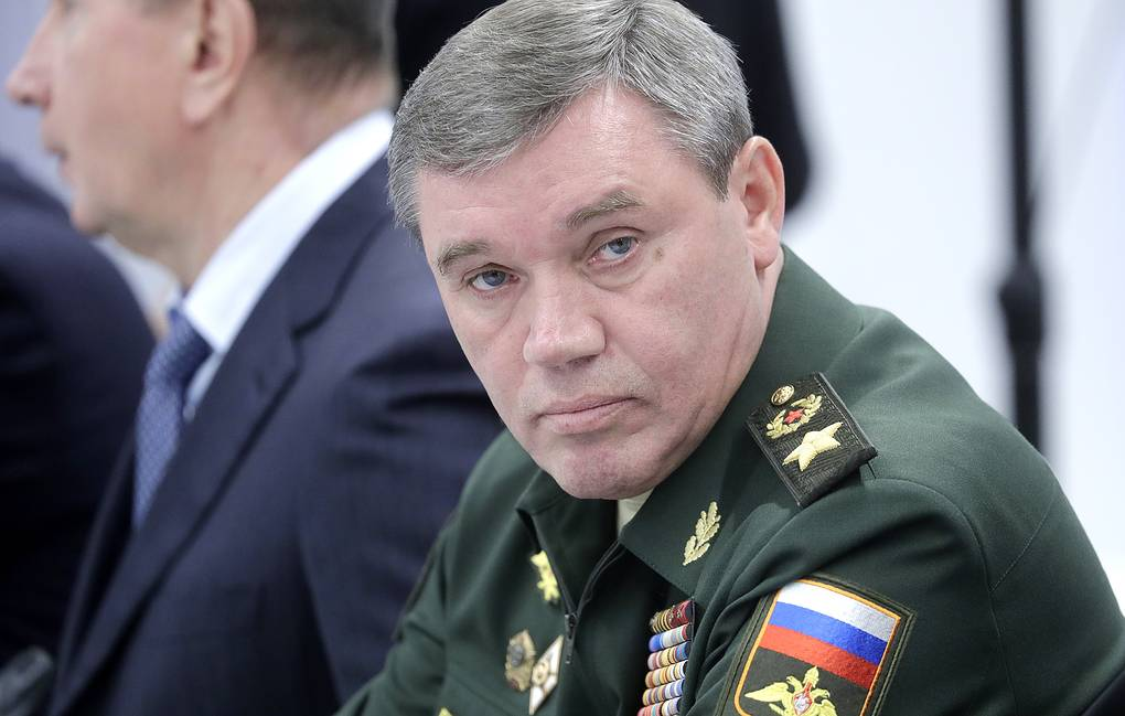 Chief of the Russian General Staff Valery Gerasimov Mikhail Metzel/TASS