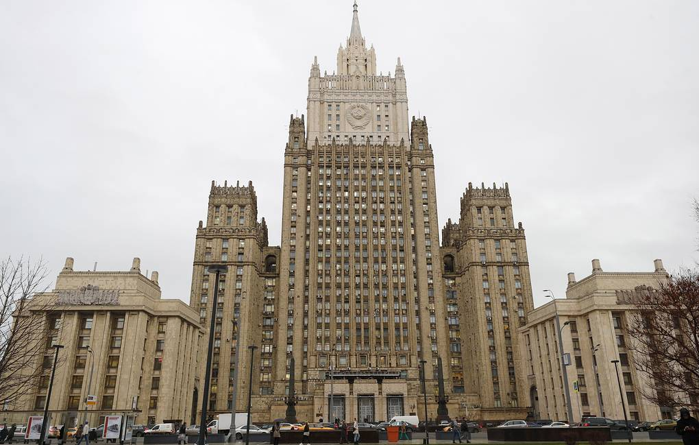 The Russian Foreign Ministry's building in Moscow Mikhail Japaridze/TASS