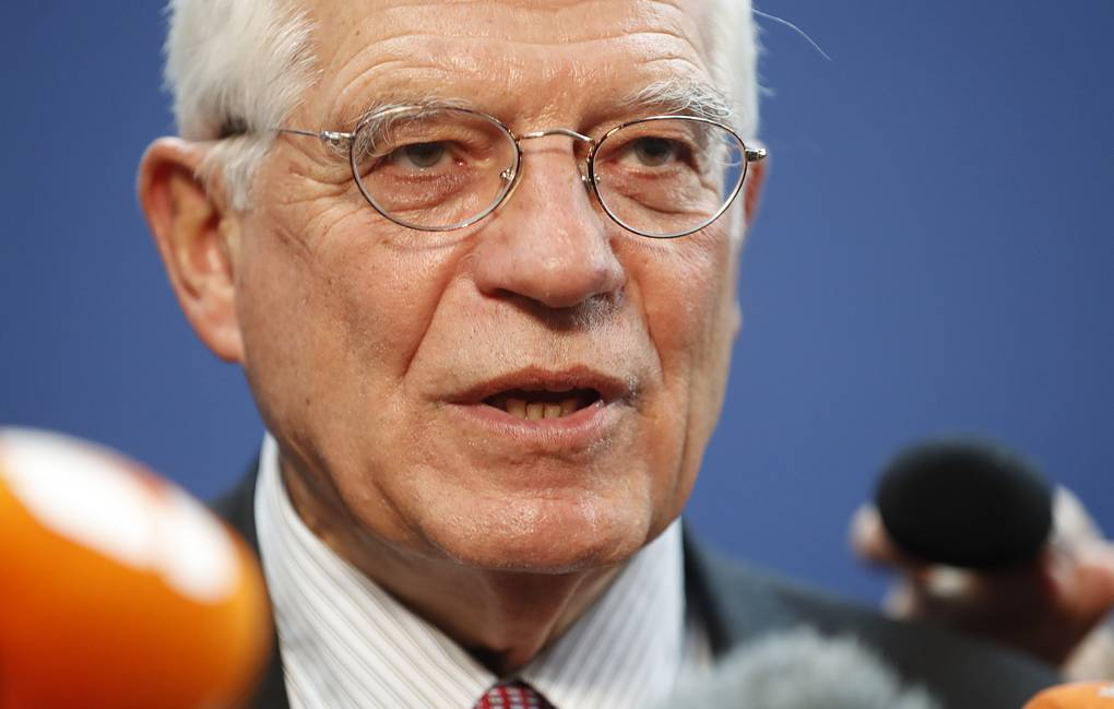 EU High Representative of the Union for Foreign Affairs and Security Policy Josep Borrell AP Photo/Jean-Francois Badias