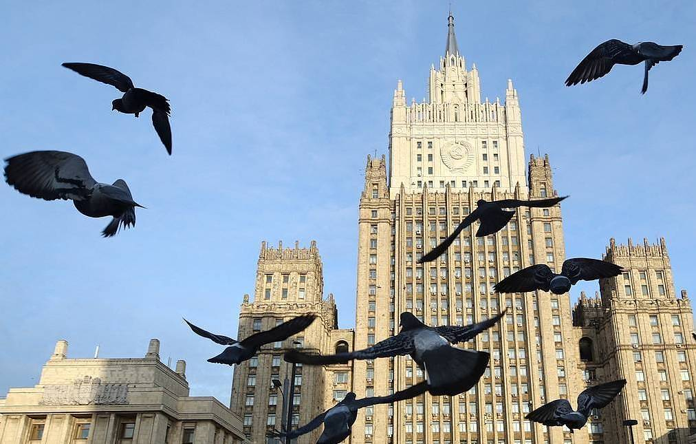 The Russian Foreign Ministry  Sergei Bobylev/TASS