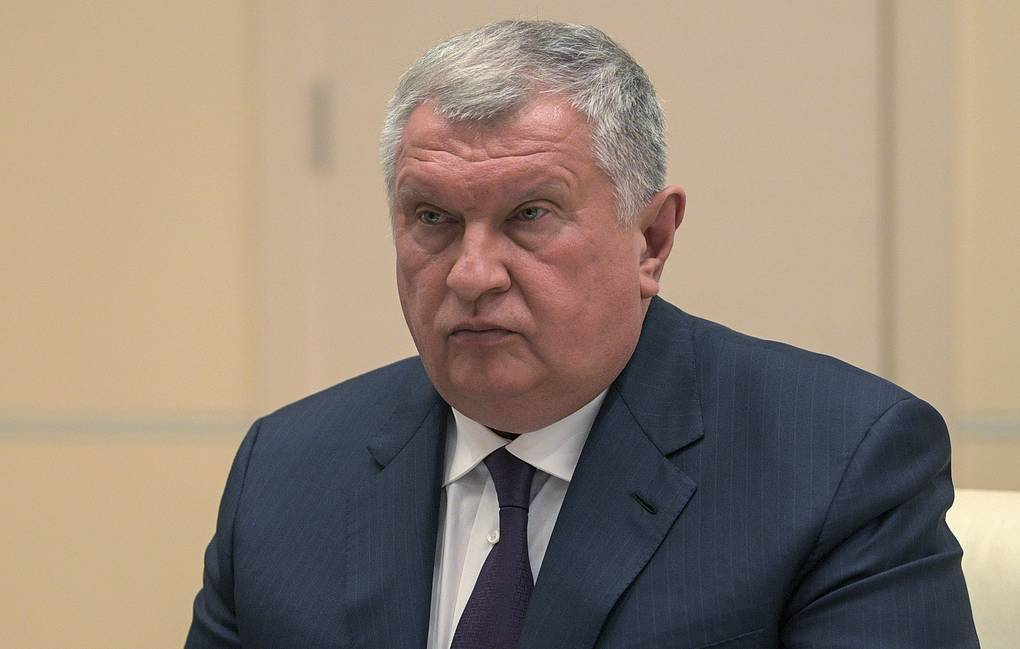 Rosneft CEO Igor Sechin Alexei Druzhinin/Russian Presidential Press and Information Office/TASS