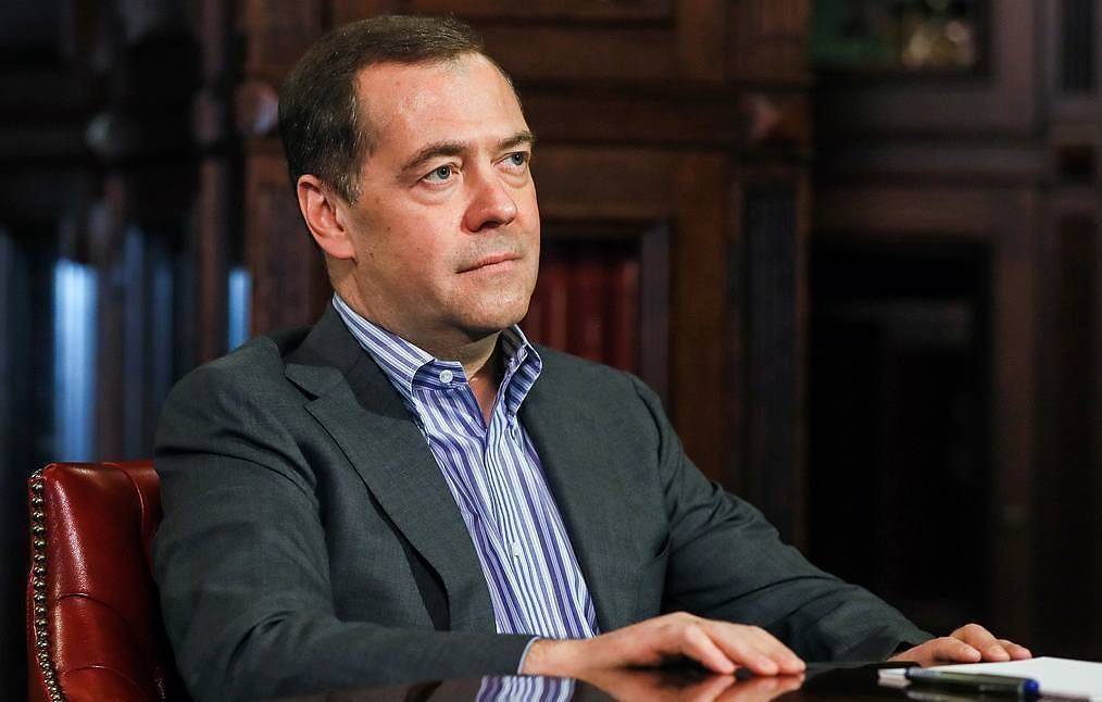 Deputy Chairman of the Russian Security Council Dmitry Medvedev Yekaterina Shtukina/POOL/TASS