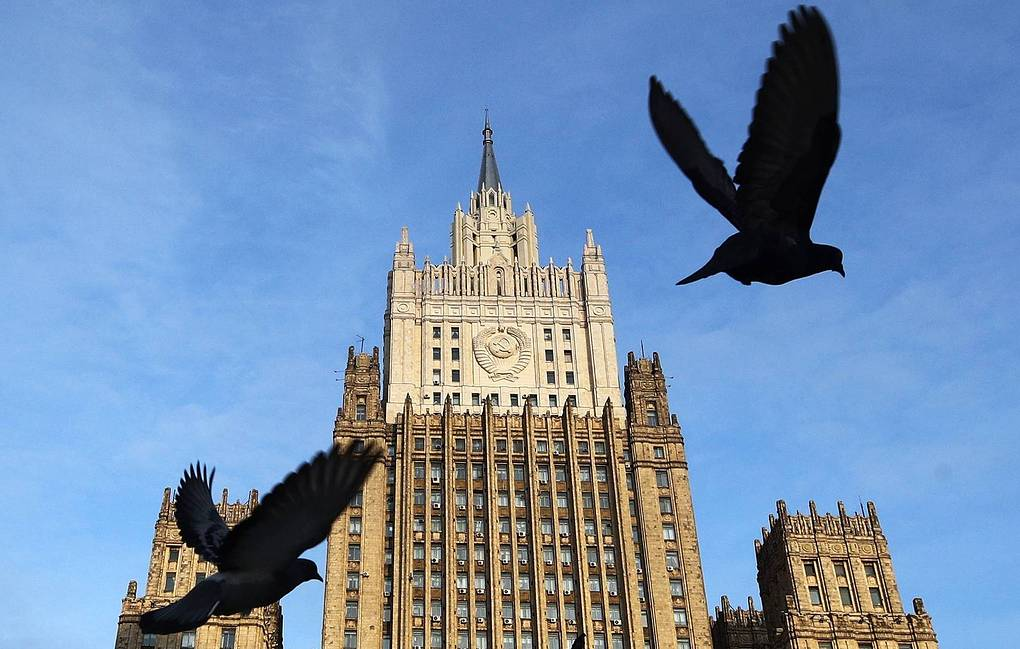 The main building of the Russian Foreign Ministry  Sergei Bobylev/TASS