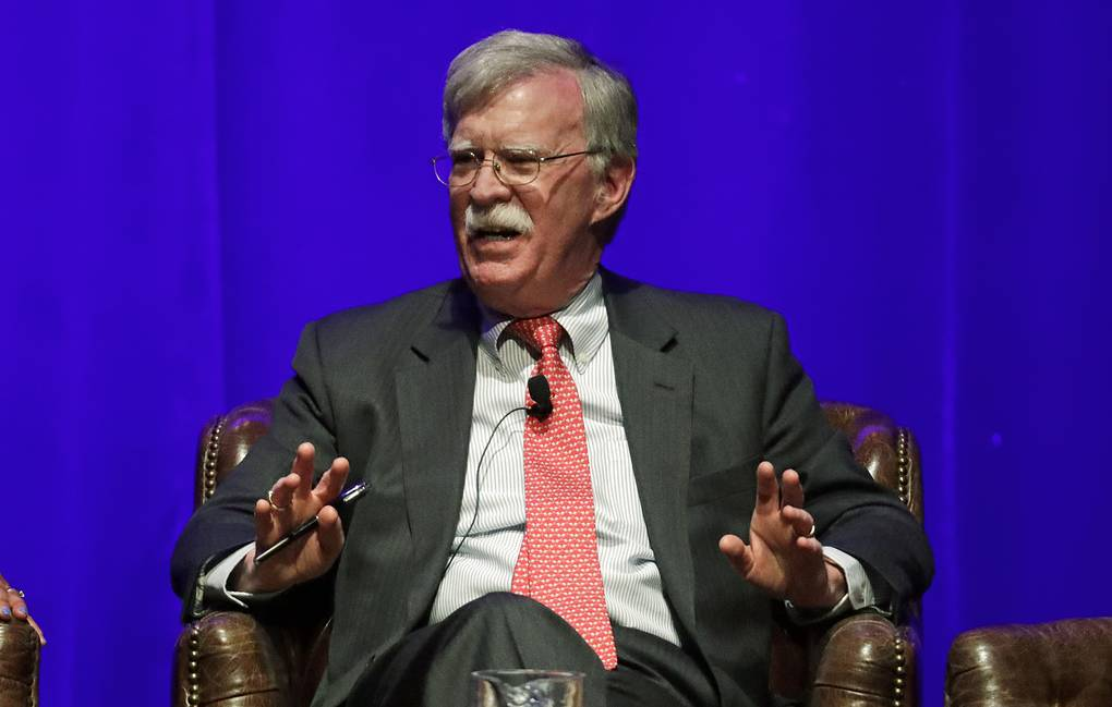 Former national security adviser John Bolton AP Photo/Mark Humphrey, File