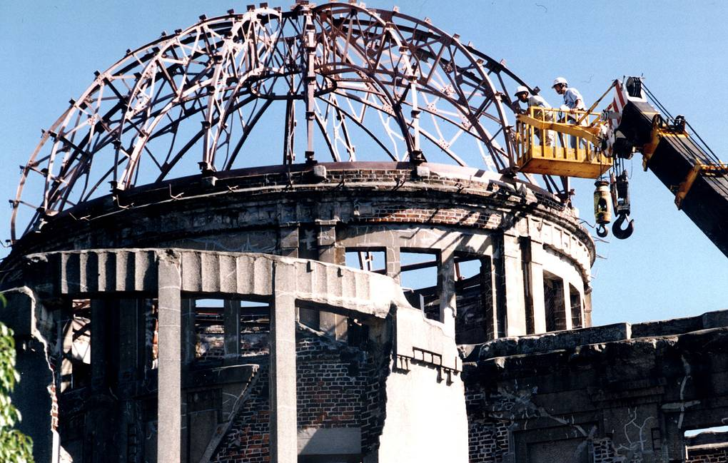 The Atomic Bomb Dome, a UNESCO World Heritage Site, a reminder of the bombing of Hiroshima and the importance of peace Kyodo News/TASS, archive