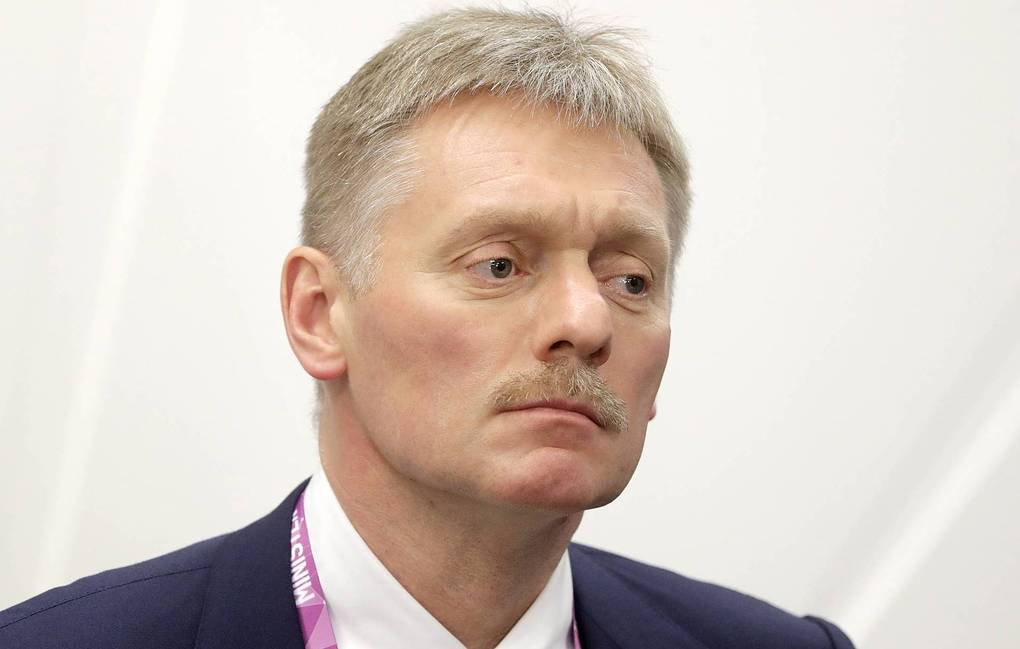 Russian president's press secretary Dmitry Peskov  Mikhail Metzel/TASS