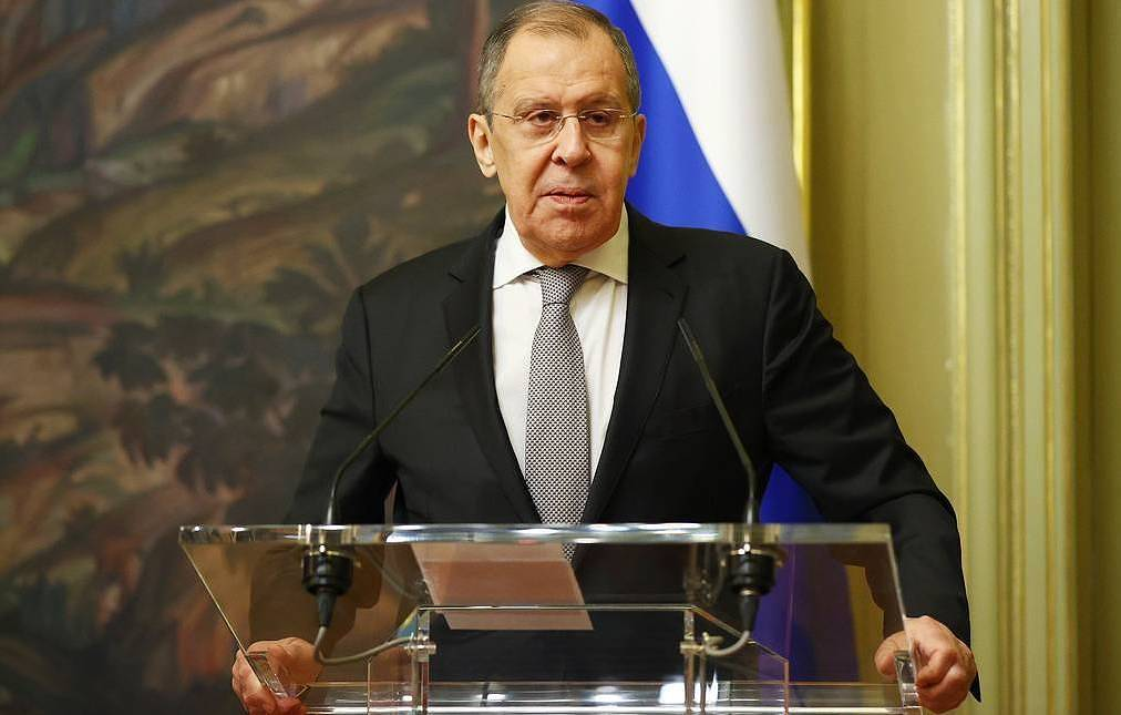 Russia's Minister of Foreign Affairs Sergei Lavrov Press Office of the Ministry of Foreign Affairs of the Russia Federation/TASS