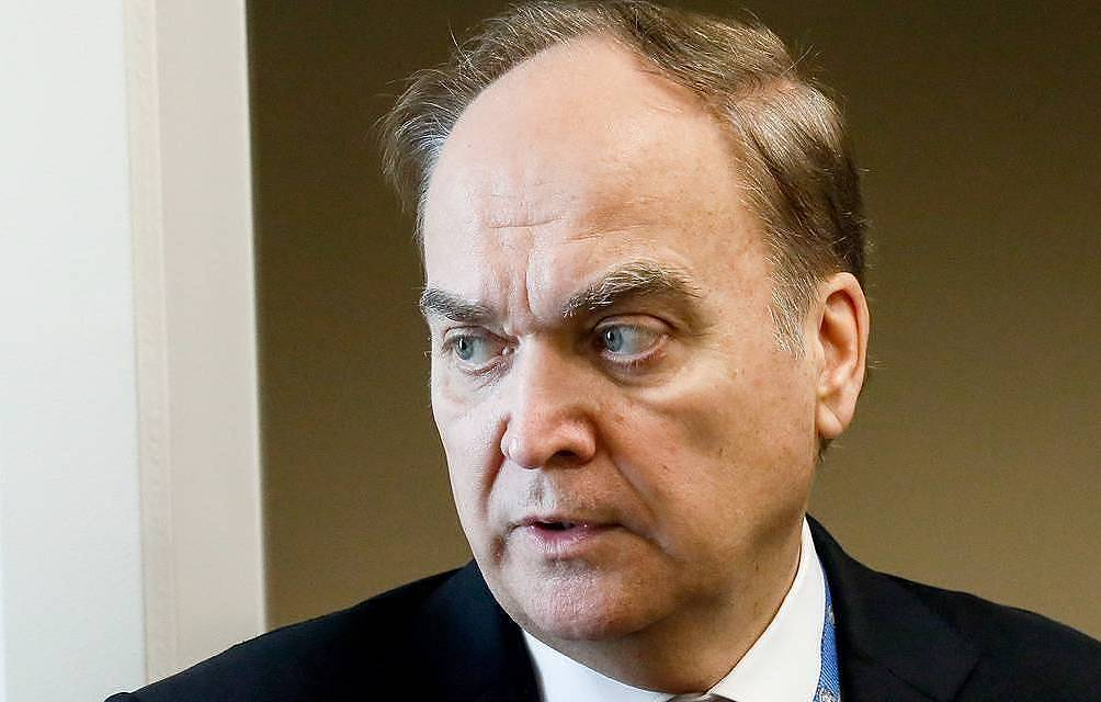 Russian Ambassador to the United States Anatoly Antonov  Alexander Shcherbak/TASS