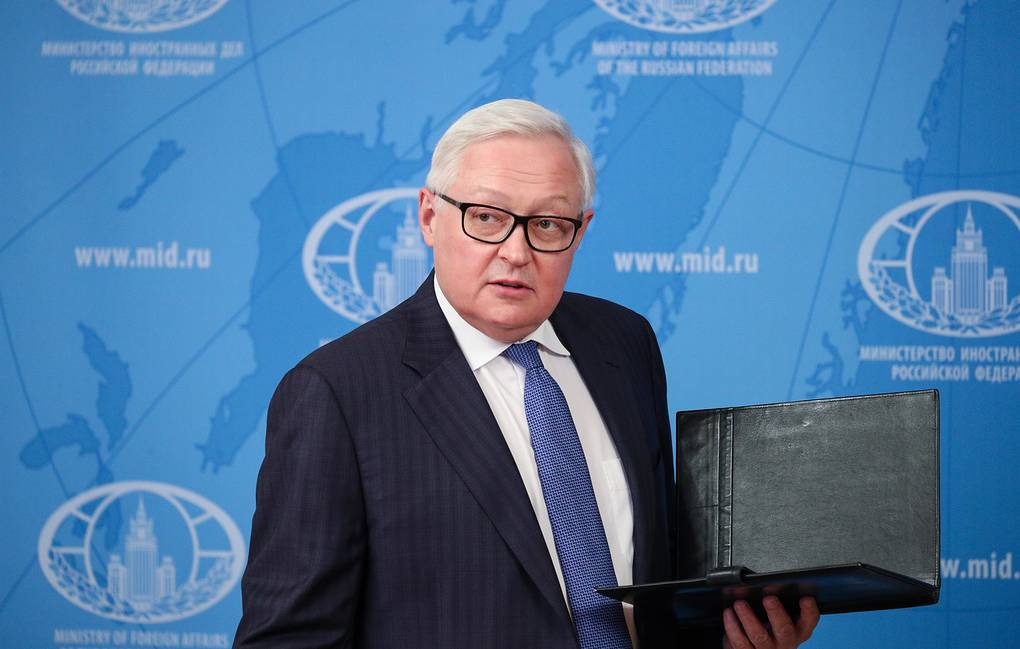 Russian Deputy Foreign Minister Sergei Ryabkov Russian Foreign Ministry Press Office/TASS