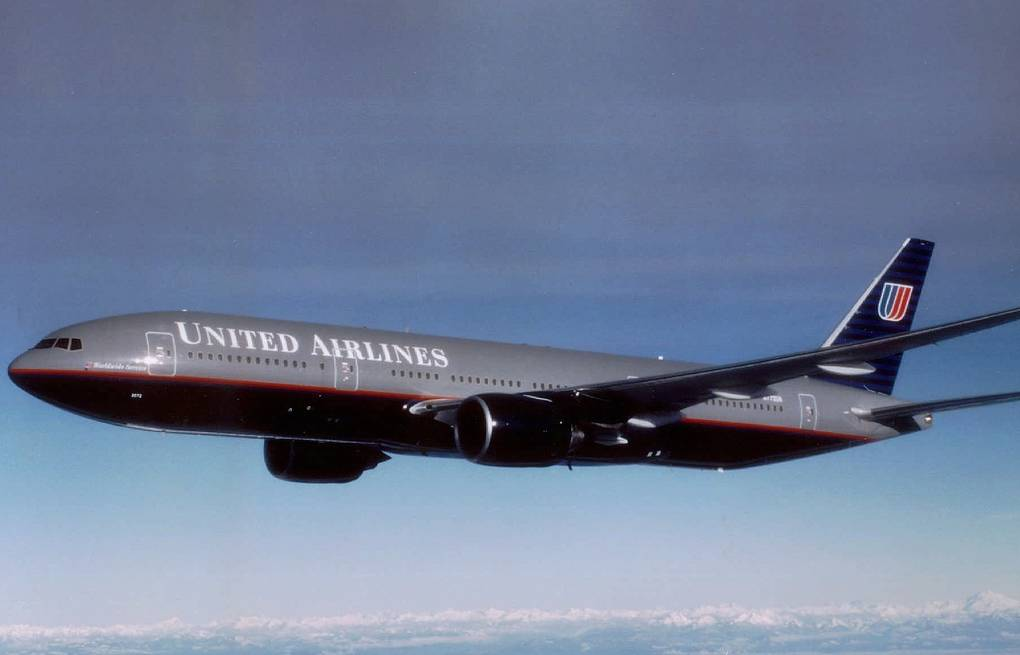 Boeing-777  авиакомпании United Airlines Архив AP Photo/United Air Lines