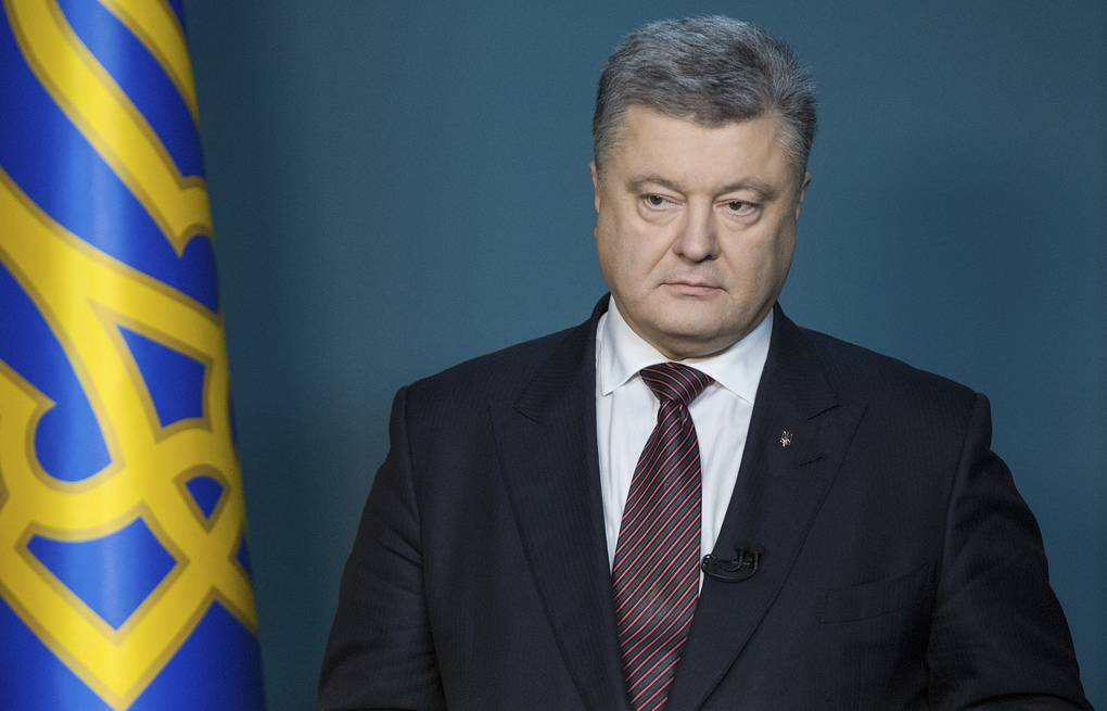 Президент Украины Петр Порошенко AP Photo/Mykhailo Markiv, Presidential Press Service Pool Photo via AP
