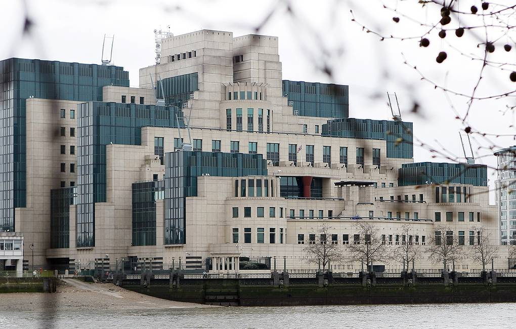 Здание MI6 в Лондоне AP Photo/Alastair Grant