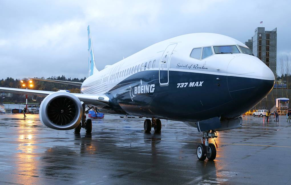 Boeing 737 MAX AP Photo/Ted S. Warren