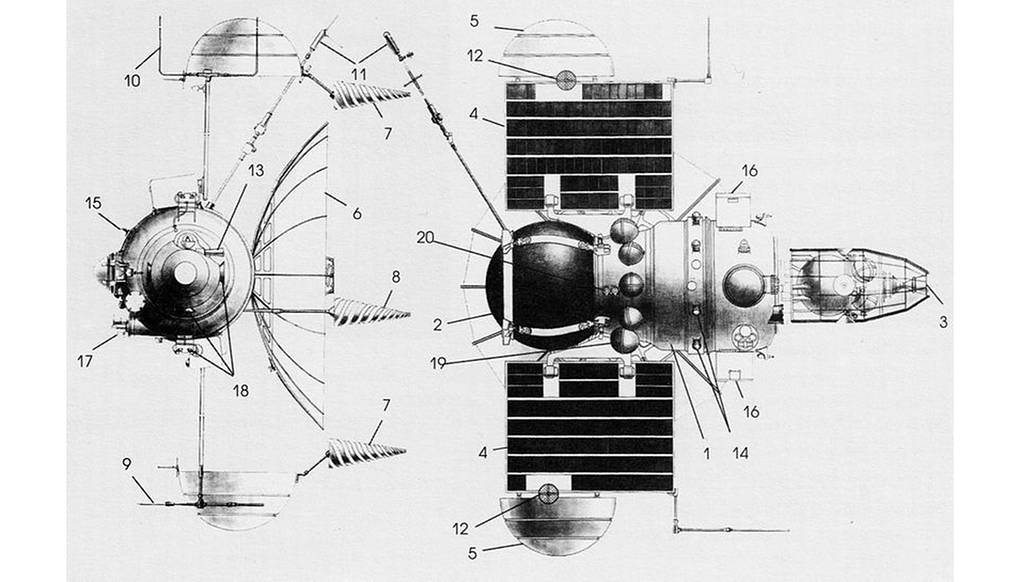 «Венера-7». Nasa / Wikimedia Commons