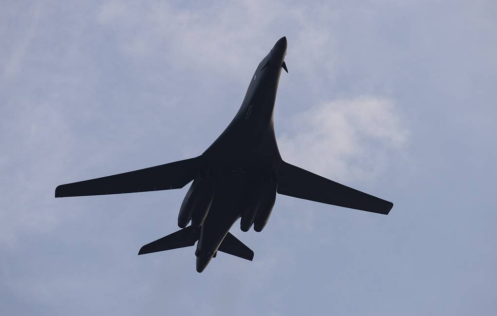 Бомбардировщик B-1 Lancer AP Photo/Alex Brandon, архив