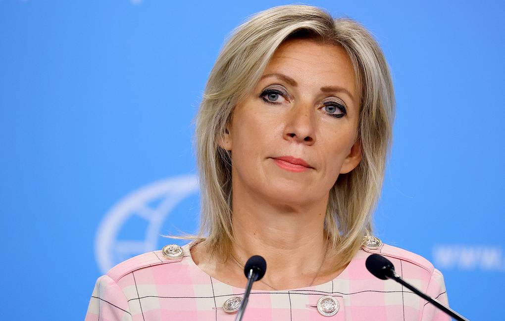 Official representative of the Ministry of Foreign Affairs of Russia Maria Zakharova Press service of the Ministry of Foreign Affairs of the Russian Federation / TASS