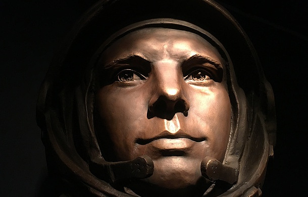 Yuri Gagarin bust installed in London's Science Museum