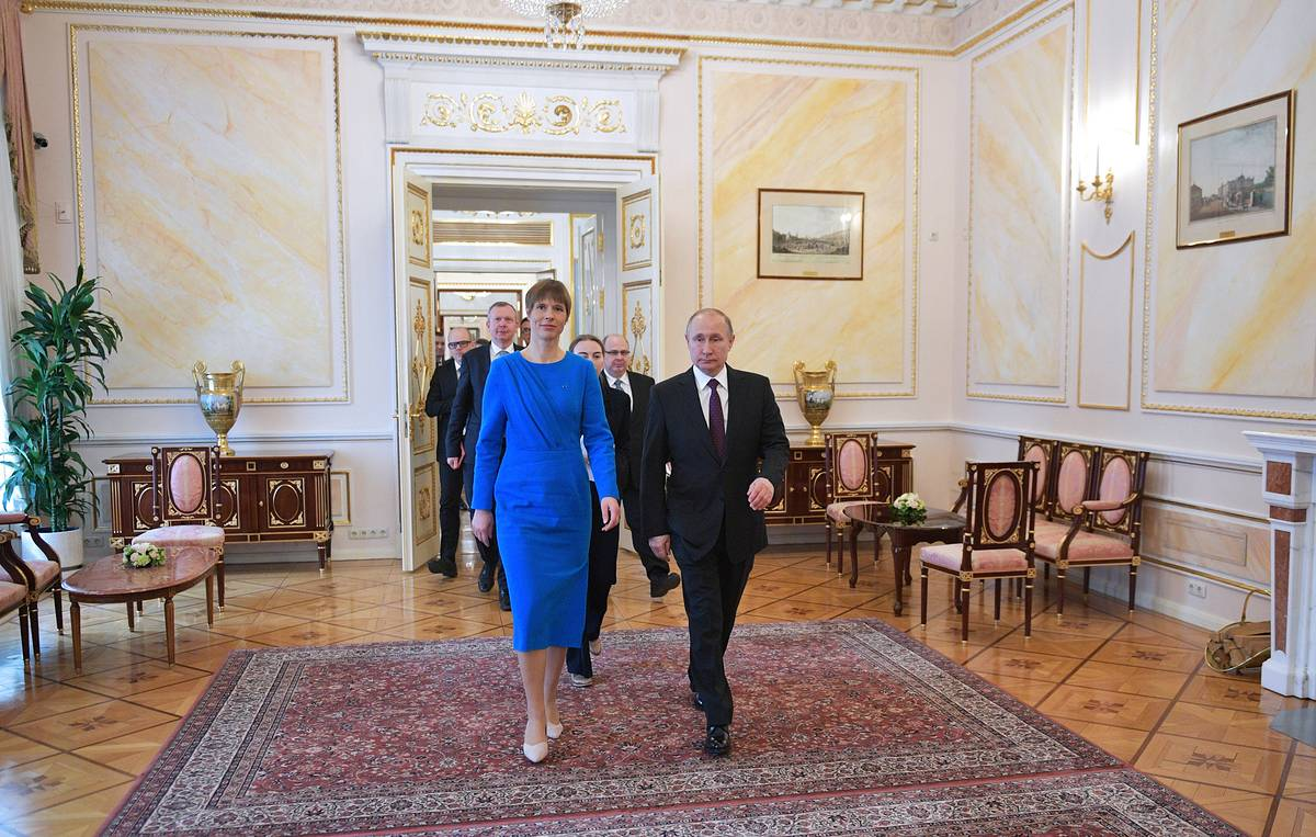 Estonian president does not see Russian language as threat to her country
