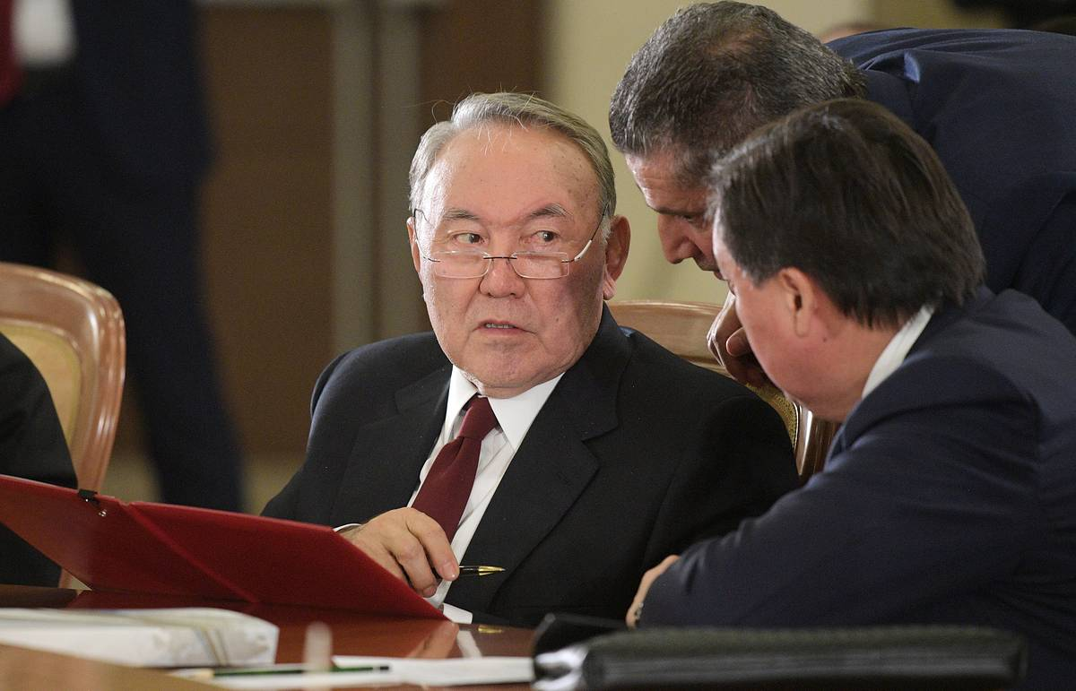 EAEU leaders to discuss Nazarbayev's possible role in union's further development