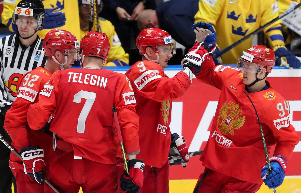 Russian sports chief says national ice hockey team has potential for stronger performance