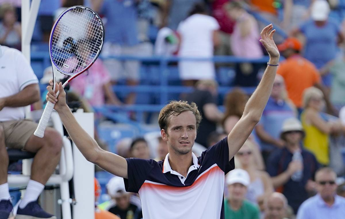 Russian tennis player Medvedev: Soaring to 5th place in ATP Rankings 'is unbelievable'