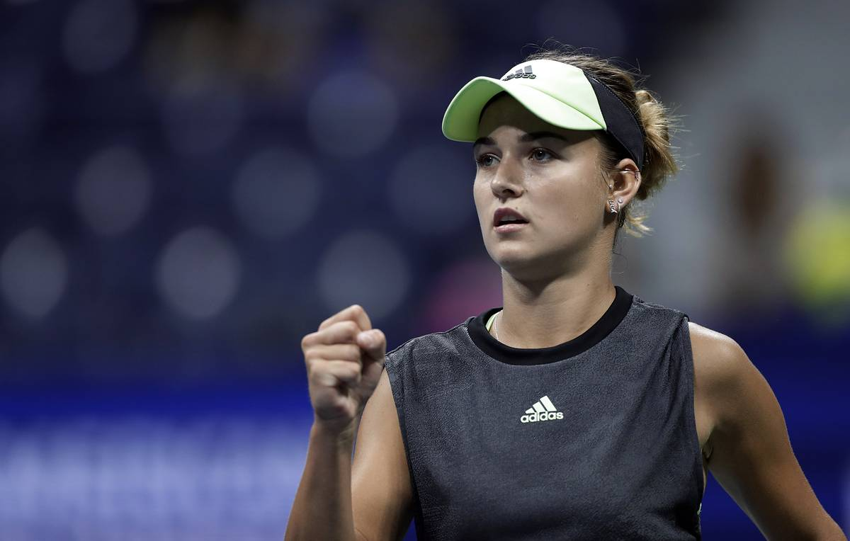 Russia's Kalinskaya advances to second round at 2019 US Open