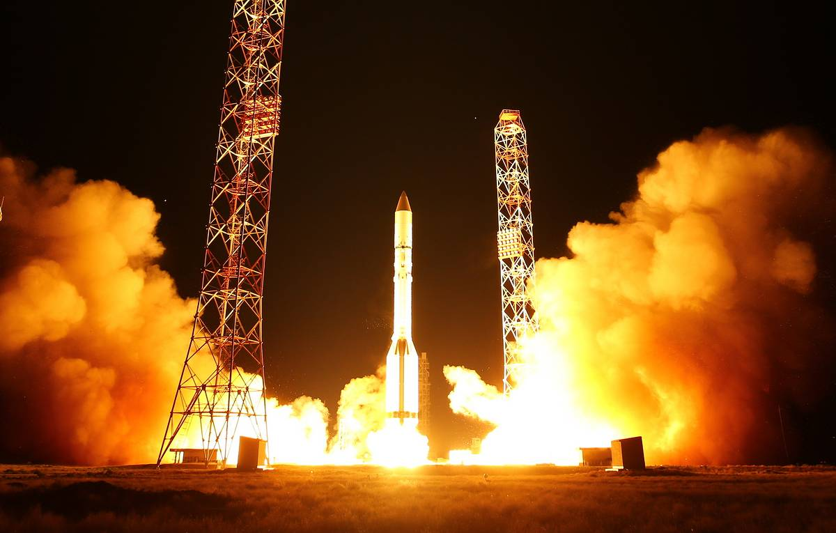 Satellites launched atop Russia's Proton-M rocket put into designated orbits
