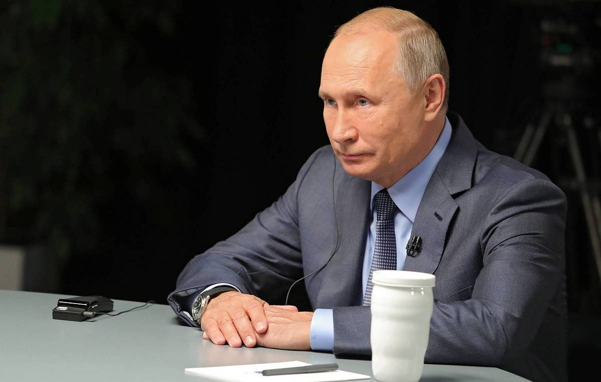 Putin voices hope there will be no new Cold War