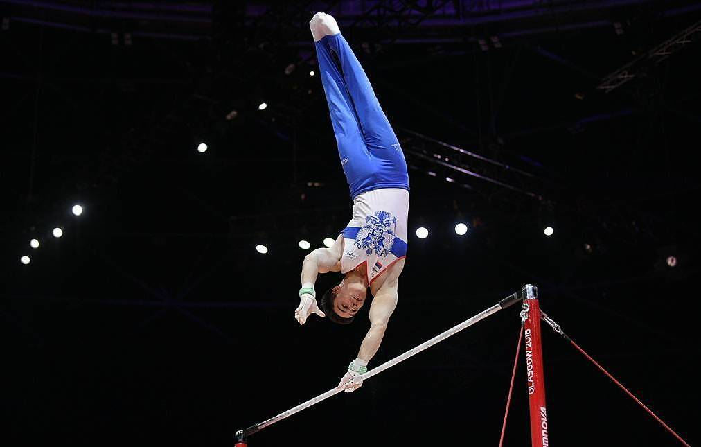 Russian gymnast Nagorny says no emotions left after winning three world golds in Stuttgart