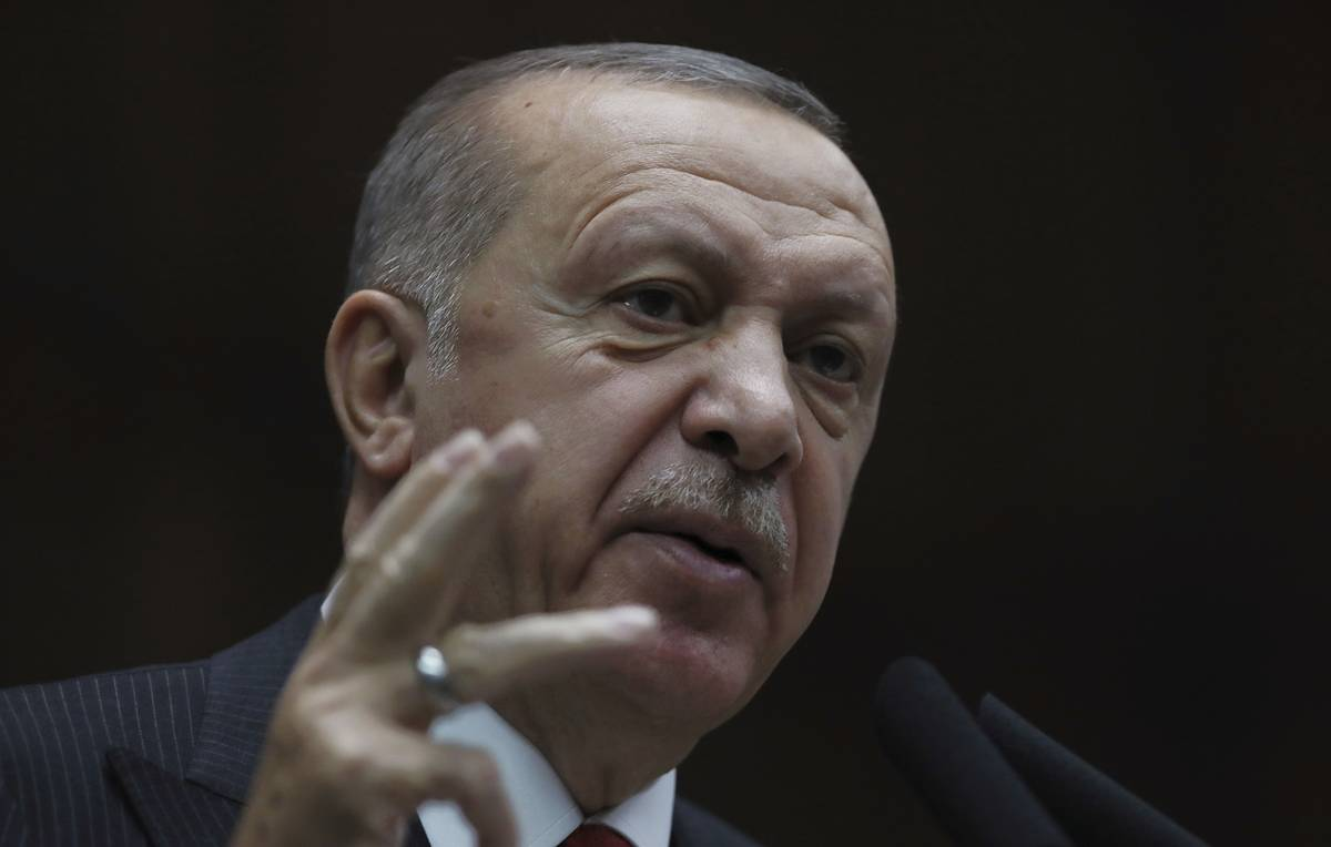 Erdogan says US carries on joint patrolling in Syria with Kurdish forces