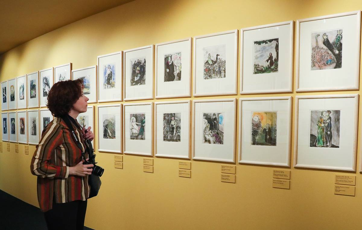 Chagall painting auctioned in Moscow for $157,000