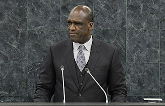 President of the United Nations General Assembly Dr. John Ashe